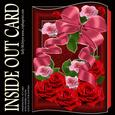 Inside Out Card Red Roses for Any Special Occasion