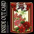 Inside Out Card Poinsettia