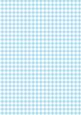 Gingham in Topaz - A4 Background Sheet