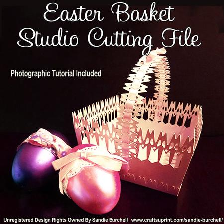 Easter Basket - Studio Cutting File