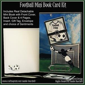Football Mini Book Card Kit