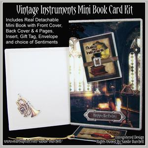 Vintage Instruments Mini Book Card Kit