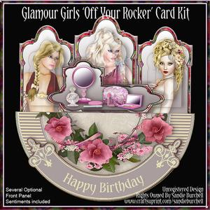 Glamour Girls 'off Your Rocker' Card Kit
