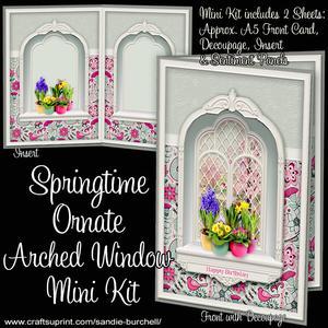 Springtime Ornate Arched Window Mini Kit