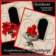 "2 x Christmas Scrapbooking Quick Pages 12""x12"""
