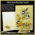 Yellow Roses Mini Book Card Kit