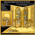 Golden Roses Double Picture Pop-up Kit