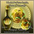 Khaki Perfume Bottle, Plate & Pomander Designer Resource