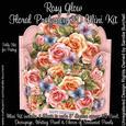 Rosy Glow Floral Profusion 3D Mini Kit