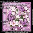 Magnolia & Freesia Square Frame Decoupage Mini Kit