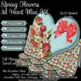 Spring Flowers 3D Heart Mini Kit