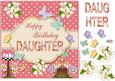 Happy Birthday Daughter Topper