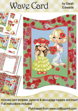 Flower Girls Wave Card Kit