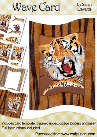 Tigers Wave Card Kit