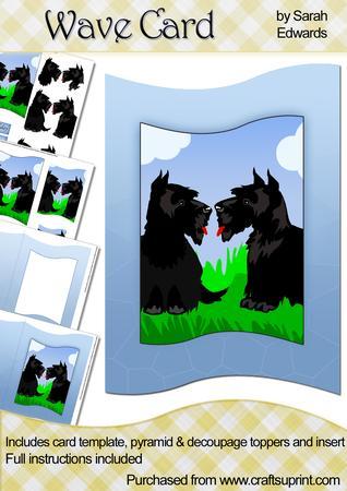 Scottie Dogs Wave Card Kit