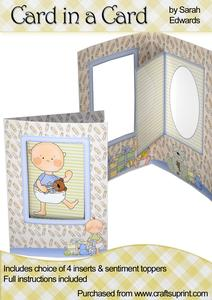 """Baby """"card in a Card"""""""