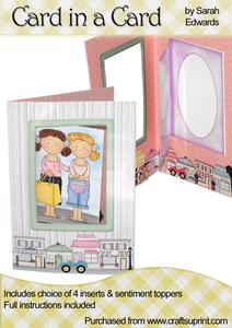 """Boutique Shops """"card in a Card"""""""