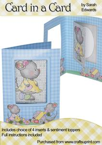 "Easter Mice ""card in a Card"""