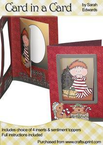 "Christmas Boy ""card in a Card"""