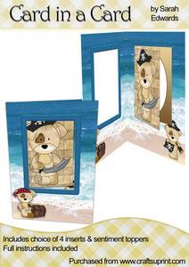 Pirate Dogs Card in a Card