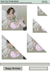 Green Fairy Triangle Stacker 2
