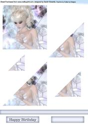 Crystal Ball Fairy Triangle Stacker