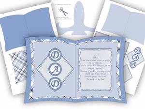 Dad / Fathers Day Book Card Kit