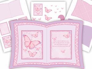 Butterflies / Mum Book Kit