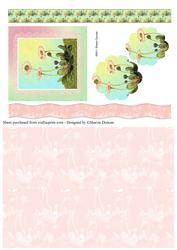 Dainty Daisy Decoupage & Paper - Pink