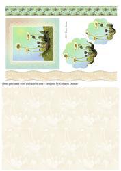 Dainty Daisy Decoupage & Paper - Lemon