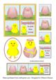 Just Hatched Comic Strip Toppers - Girl