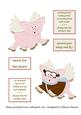 Funny Flying Pigs Toppers