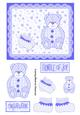 Baby Bear Lace Topper - Blue