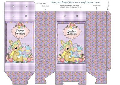 Easter Blessings Pinch Bag 2