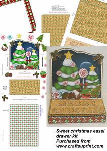 Sweet Christmas Easel Drawer Kit