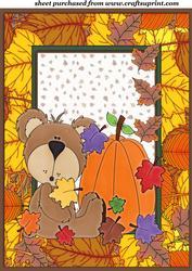 Autumn/thanksgiving Bear Topper 2
