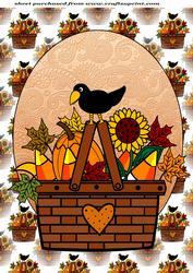 Fall/thanksgiving Topper