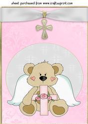 Large Christian Bear Topper 2