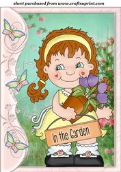 Butterfly Side Flower Girl Topper 2