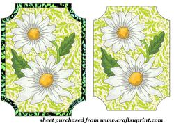 Green Daisy Topper