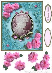 Floral Pendant Card Front