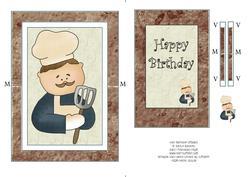 Chef Birthday Spinner