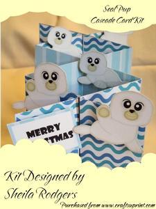 Seal Pup Cascade Card Kit