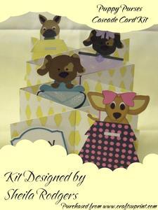 Puppy Purses Cascade Card Kit