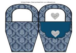Gem Clasp Handbag 7