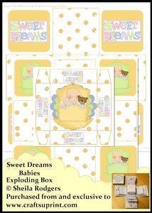 Exploding Box - Sweet Dreams Babies