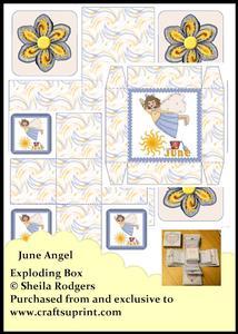 Exploding Box - June Angel