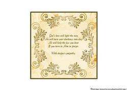 Bible Butterfly Sympathy Insert 5