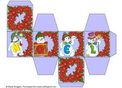 All in One Gift Box - Noel Snowmen