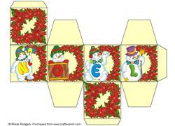 All in One Gift Box - Noel Snowmen 2